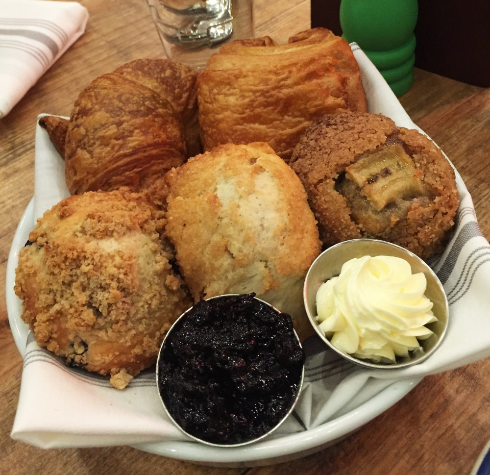 croissants, muffins, theodore, brunch, northpark mall, dallas, foodie