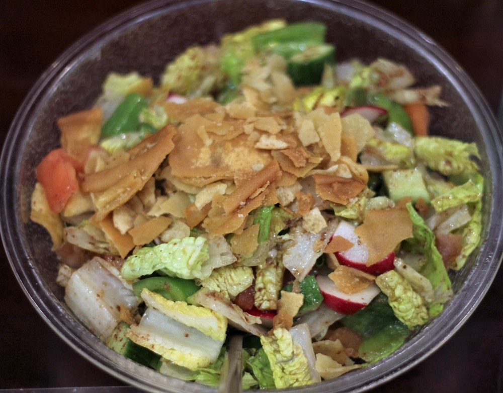 Afrah, Richardson, TX, Fattoush Salad