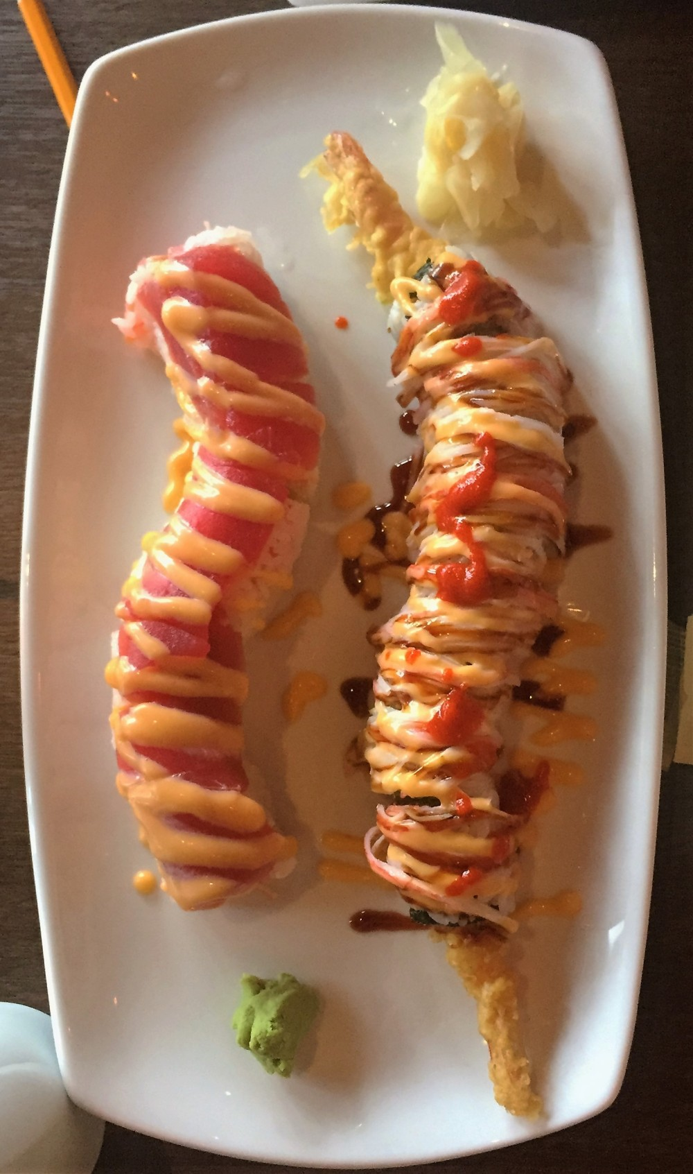 sunny roll, charming roll, sushi, tempura, black ship, little katana, japanese, korean, american, foodie, downtown dallas, foodie, omni